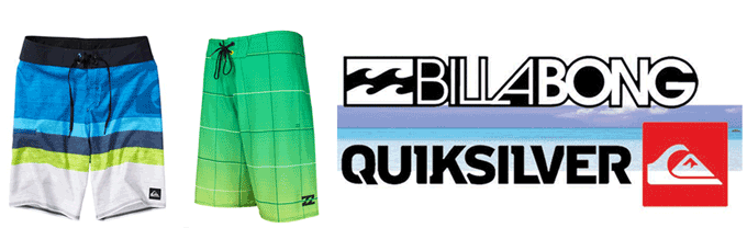 Sale on Billabong and Quiksilver Boardshorts